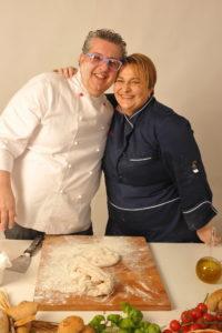 Vito De Vita con Helga Liberto