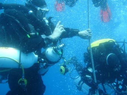 Plongée Haven Arenzano Italie : Pervers au paliers