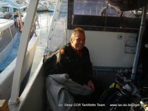 Plongeur anglais