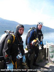 Bapteme Trimix de plongée en Savoie