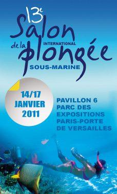 Salon de la plongée 2011 à Paris