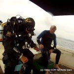 plongée epave espingole Cavalaire Deep CCR Tartiflette Team