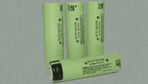 batterie Panasonic NCR 18650 recommandées