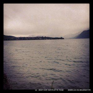 Plongee lac du Bourget