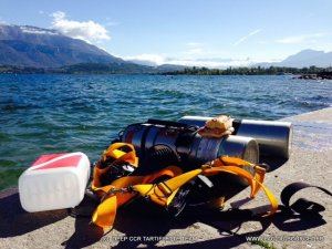 plongée Sidemount au Lac du Bourget