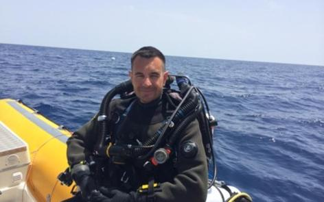 Plongée recycleur epave sous-marin Protée