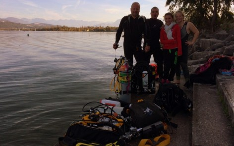 Bapteme Formation Plongee Lac du Bourget