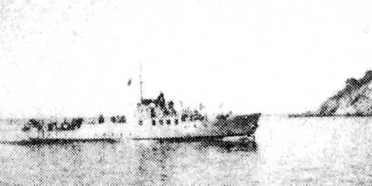 Canonnière Insuma de la kriegsmarine coulée en Corse au large de Santa Sévère