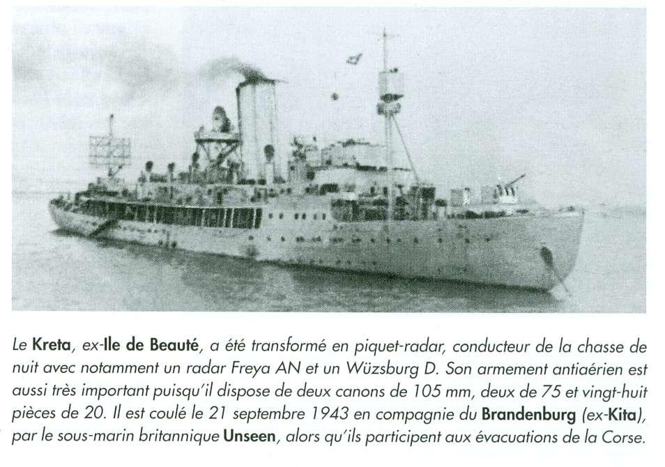 Plongée épave SS Kreta l'épave retrouvé au large de la Toscane à 165 mètres de profondeur