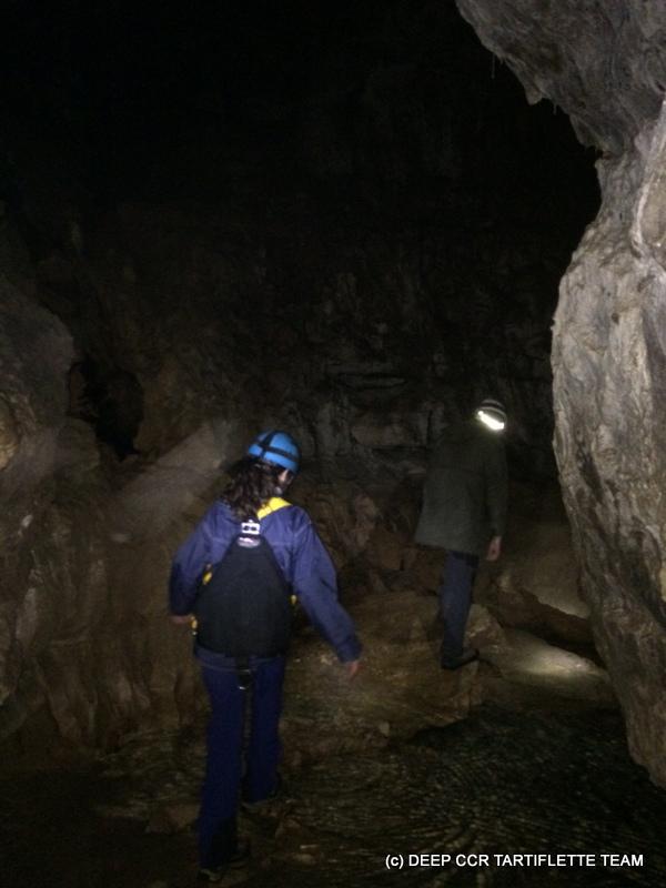 Plongée de la Rivière souterraine de la Doria