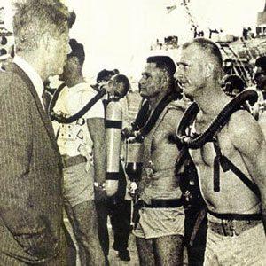 Capitaine Bob (Robert) Maloubier et Lieutenant Claude Riffaud