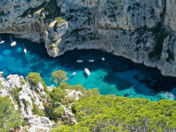 Plongée en France dans les Calanques de Marseille