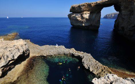 Trou Bleu Malte Gozo