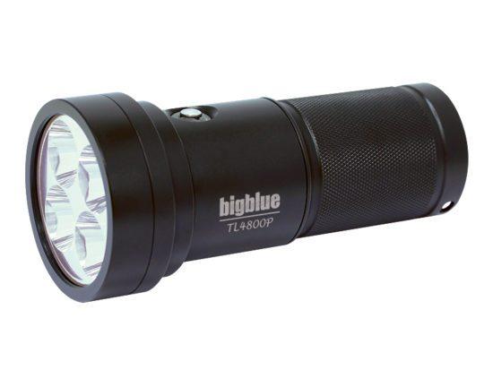 Lampe de plongée BigBlue TL4800P pour la plongée souterraine