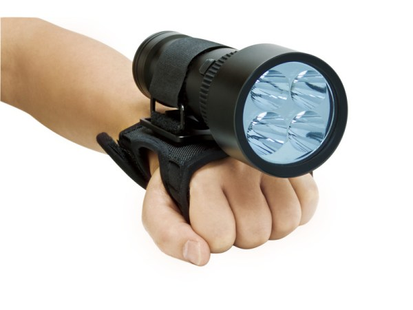 Poignée souple pour la Lampe de plongée Bigblue TL4800P