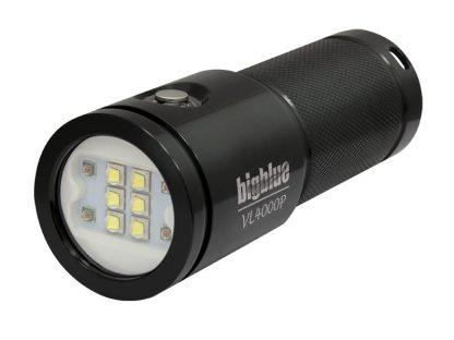 Lampe de plongée Eclairage vidéo Bigblue VL4000P 10eme Anniversaire Glossy Black