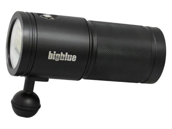 Phare vidéo éclairage de plongée Bigblue VL7200P tri color