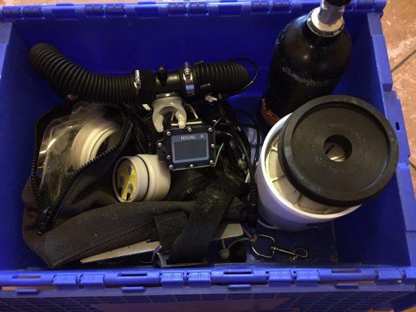 Recycleur de plongée Triton d'occasion