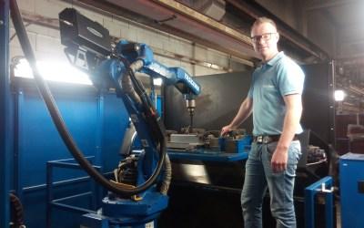 Gunnebo realiseert 80% productie optimalisatie bij het robotlassen