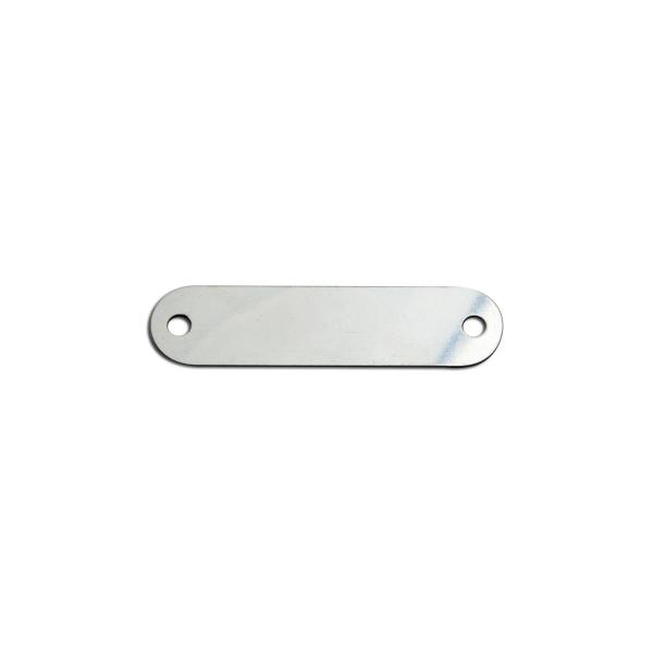 plaque a rivet inox