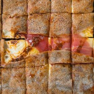 La Cabane du Breton Crêperie Restaurant à Arcachon jambon de pays fromage crepe