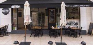 vue extérieur La Cabane du Breton Crêperie Restaurant à Arcachon