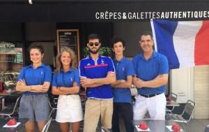 l'équipe de La Cabane du Breton Crêperie Restaurant à Arcachon