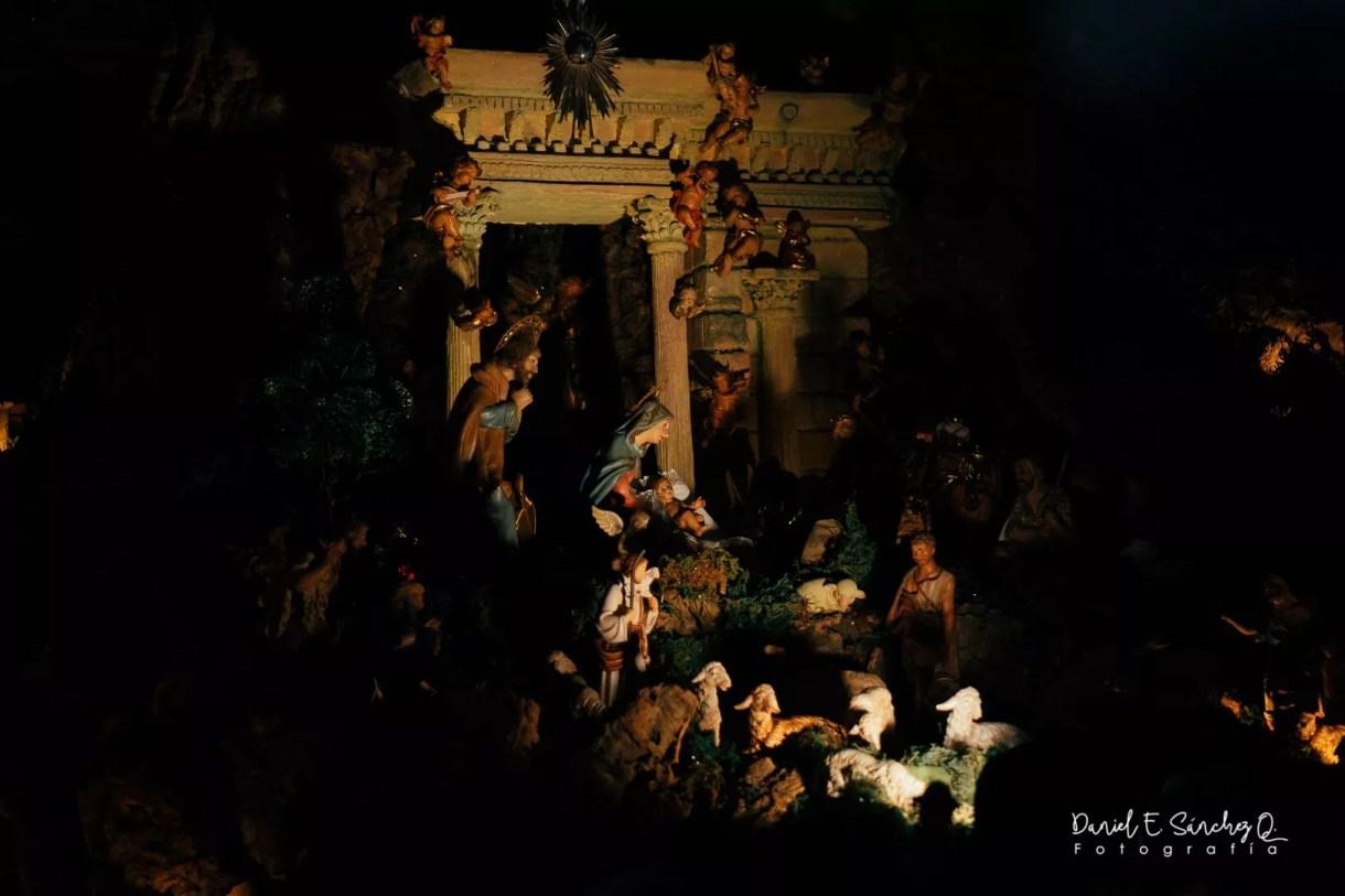 Nacimiento en Oratorio San Felipe Neri