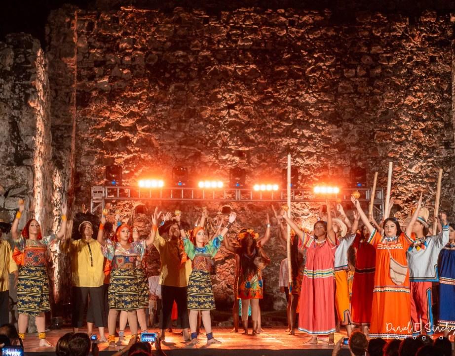 Baile indígena - Veranito histórico