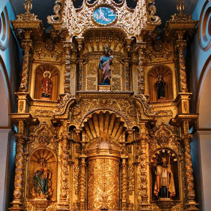 Altar de oro De la Iglesia de San José