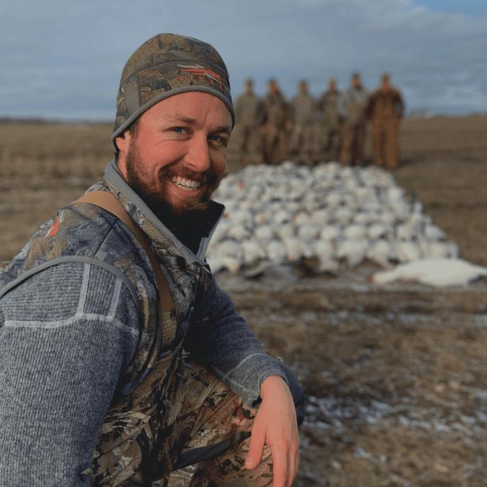 Guide de chasse à l'oie blanche