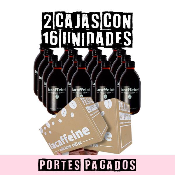 Caja Cold Brew Coffee 250ml x 16u LaCaffeine