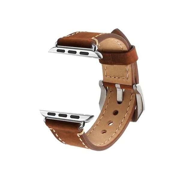 correa de cuero para Apple watch - La Caja de Bruno