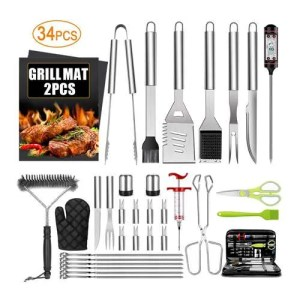 herramientas de asado - La Caja de Bruno