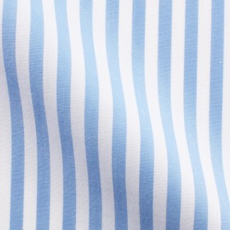 Slim Fit – Business Hemd mit Haifisch Kragen – Super Twill