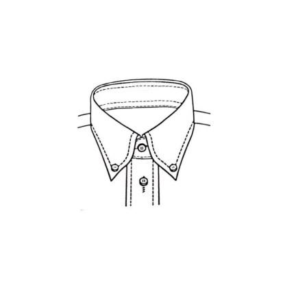 Slim Fit – Jeanshemd mit Button Down Kragen – Oxford Two Ply