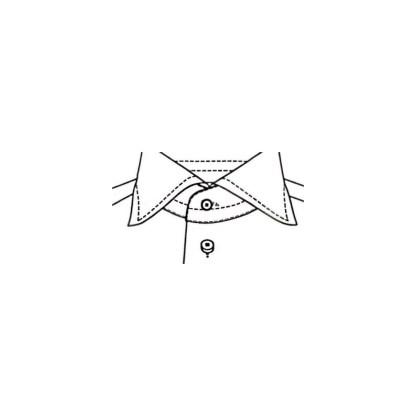 Comfort Fit – Flanellhemd mit Kent Kragen – Herringbone Twill Two Ply