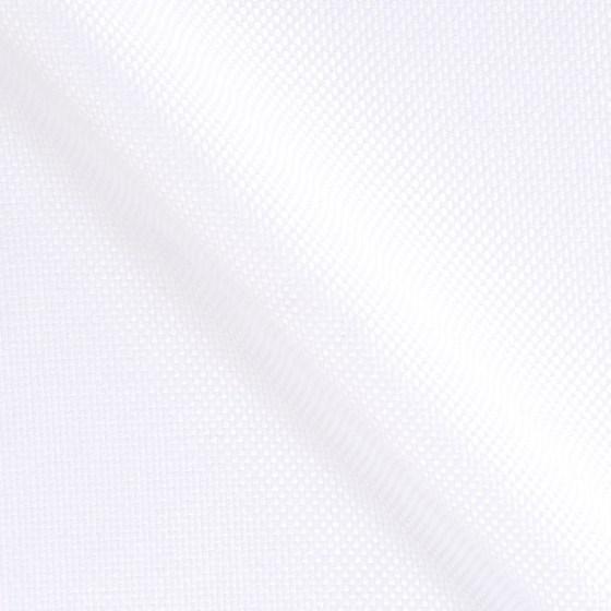Weisser Oxford Stoff aus Baumwolle Vollzwirn