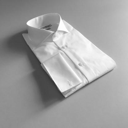 Comfort Fit – Business Hemd mit Umschlagmanschetten – Popeline Two Ply