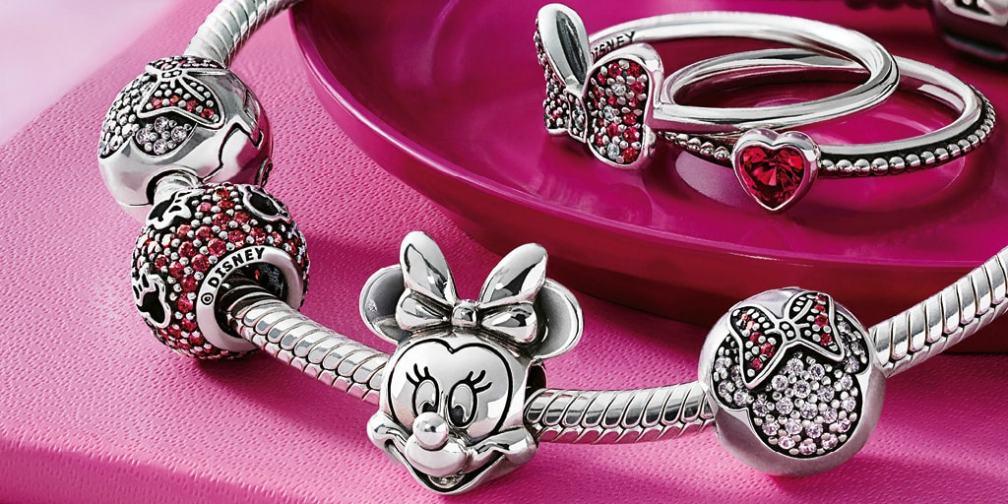 PANDORA Disney Mickey and Minnie Mouse Jewelry