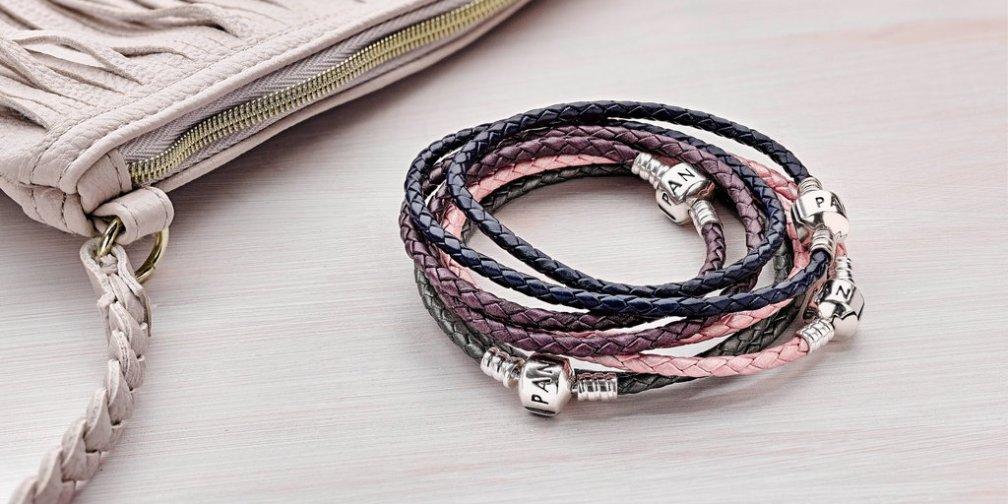 PANDORA Bracelets Leather