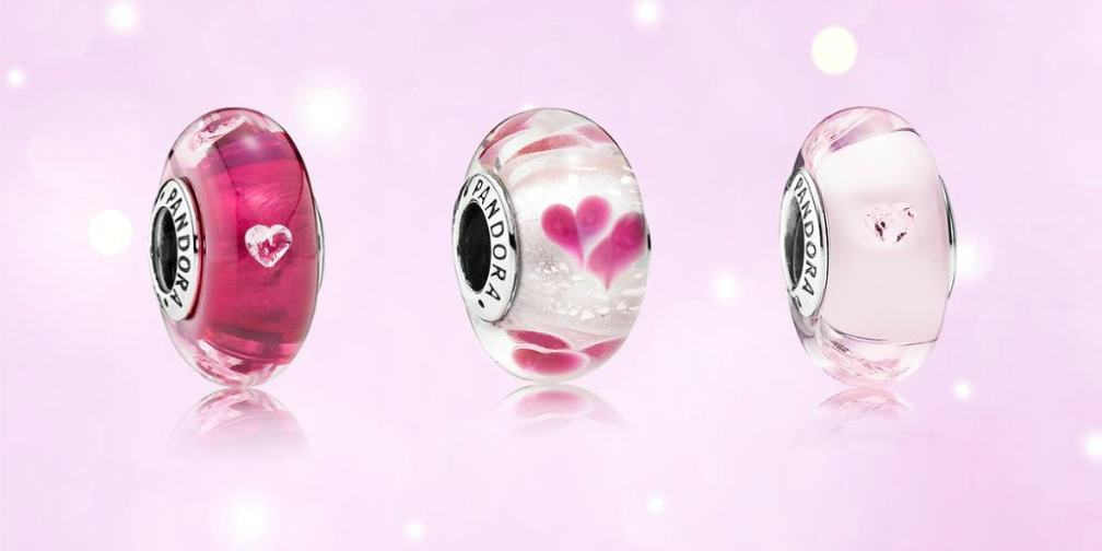 PANDORA Murano Glass Charms