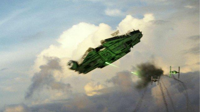 """Una imagen de """"Los últimos Jedi""""."""