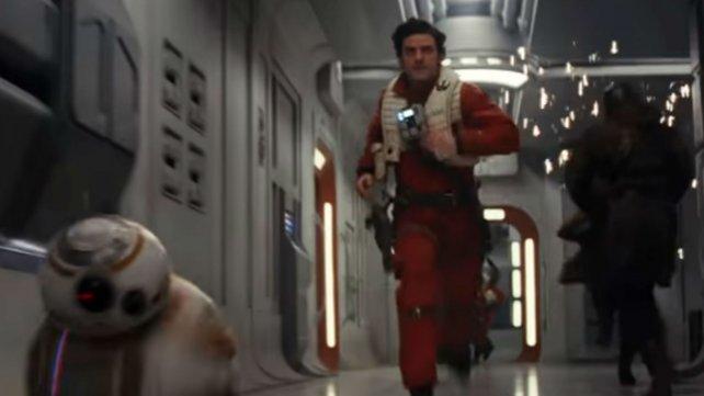 """Una de las imágenes de """"El último Jedi"""""""