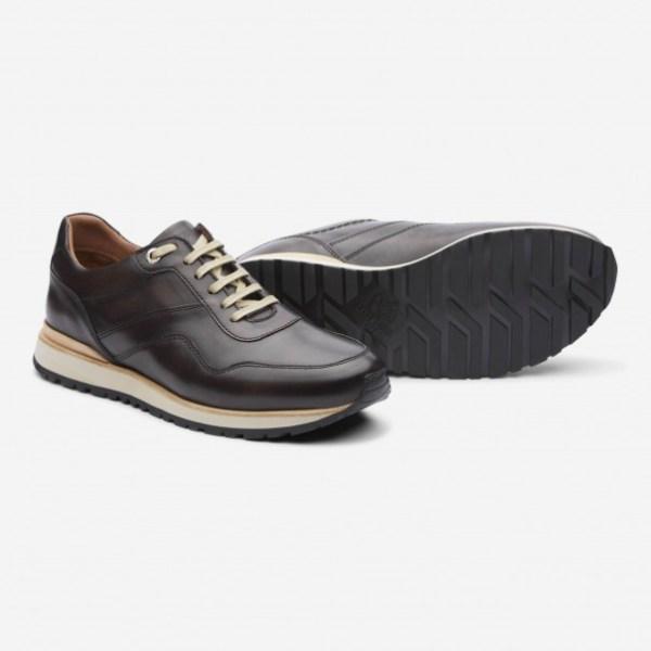 Sneaker de Lottusse en piel y nobuk