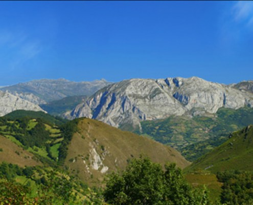 Parque Ubiñas cerca casa rural La Carrozal Asturias Teverga