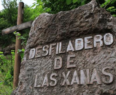 Desfiladero de las Xanas, Asturias.