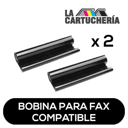 Philips Pack 2 bobinas para fax, reemplaza a PFA321 - PFA3 Compatible