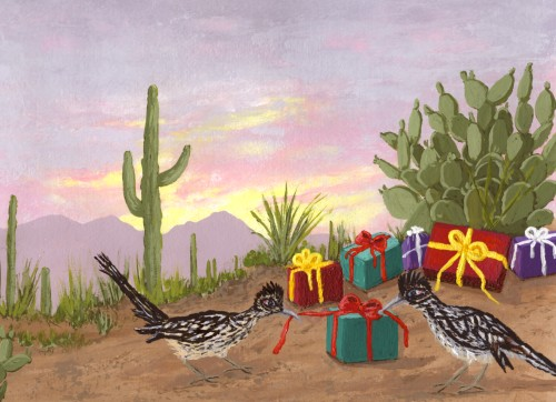 Southwest Christmas Holiday Cards