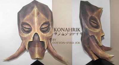 mascara konahrik papel